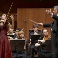 Con el maestro Zubin Mehta en el concierto de inauguración del auditorio Sony